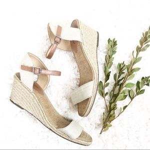 Lucky Brand | Wedge Sandals with Ankle Strap